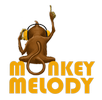 Header Logo: Monkey Melody